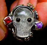 Quartz Crystal Skull For Time and Eternity