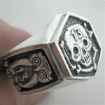 Skull Rings, owls and the number 13