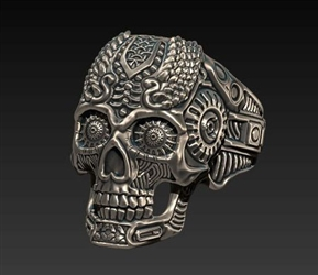 Sun_Worshipper_Skull_Ring