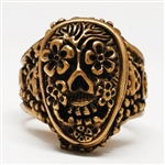 Mexican Day of the Dead Ring