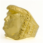 Trump Portrait Gold Plated stainless