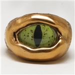 Green Dragon Bronze Eye ring